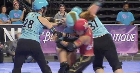 International Women's Roller Derby Championships Roll Into Philadelphia [Channel 10 News]