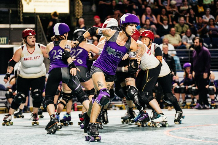 Philly hosts championship tournament for the world's top roller derby teams [Philly Voice]